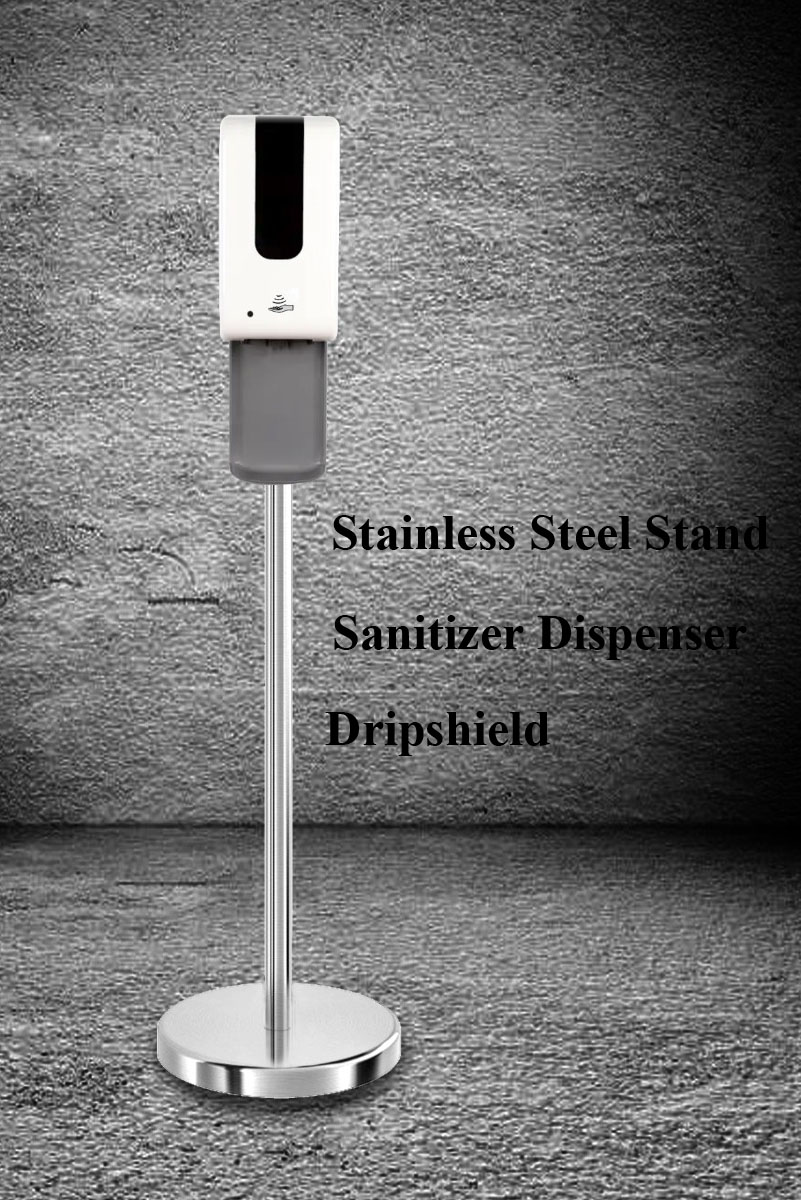 floor stand with dispenser